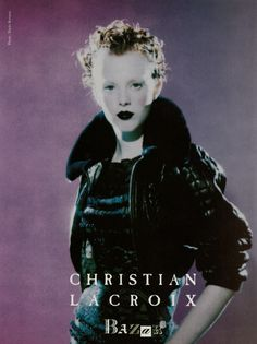 Karen Elson photographed by Paolo Roversi - Christian Lacroix Ad Campaign: Fall/Winter 1997
