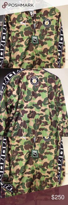 BAPE X PUMA Really dope jacket Bape Jackets & Coats
