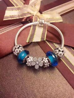 50% OFF!!! $199 Pandora Charm Bracelet. Hot Sale!!! SKU: CB01364 - PANDORA Bracelet Ideas
