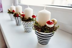 Advent/Christmas Candles