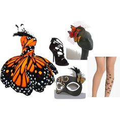 """""""Monarch Masquerade"""" by erica-williams74 on Polyvore"""