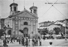 Glorieta de Iglesia, en Chamberí, Madrid