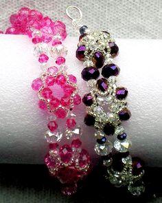 Silver Star Bracelet Pattern by Lynn