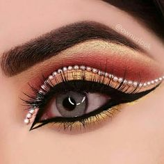 Beautiful eyes Eye Makeup Images, Mehndi Designs, Tattoo Designs, Fantasy Makeup, Makati