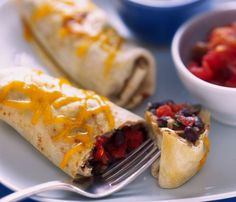 Cheesy Bean Burrito