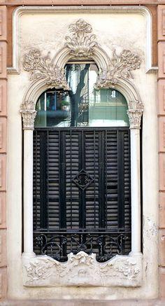 Barcelona - C/ Vergós, Catalonia. Modernisme