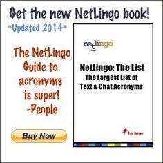 Netlingo list