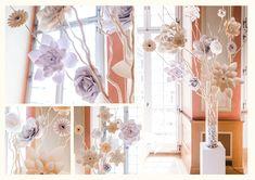 Romantisch verspielte Hochzeitsdeko Paper, Shopping, Flowers