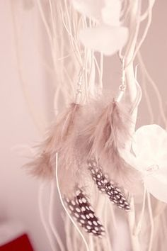DIY tutorial -these things are quite apendy here's a way to save a lil and still score a cute new pair of feather earings!:)