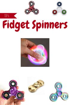 Top 6 Fidget Spinner