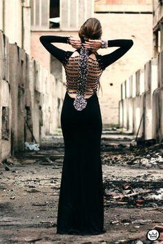 black Scorpion dress