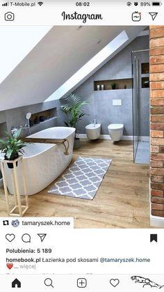 Badezimmer bathroom grey wood bathroom grey salle Buying Gently Used Baby Clothing Bathroom Grey, Loft Bathroom, Bathroom Flooring, Bathroom Interior, Modern Bathroom, Small Bathroom, Master Bathroom, Bathroom Ideas, Wood Floor Bathroom