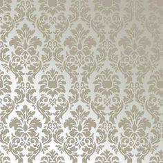 This would be nice for an accent wall in the bathroom Small Room Bedroom, Home Decor Bedroom, Living Room Decor, Bedroom Ideas, Wall Wallpaper, Pattern Wallpaper, Diy Arts And Crafts, Elegant Homes, Interior Design Living Room