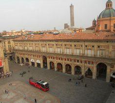 Portico del Pavaglione-veduta dall'alto- Bologna