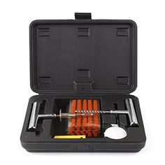 Slime Car Van 4x4 Tubeless Tyre Emergency Puncture Repair Plug Plugger Tool Kit