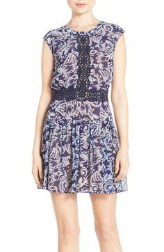 BCBGMAXAZRIA 'Aymeline' Woven Blouson Dress