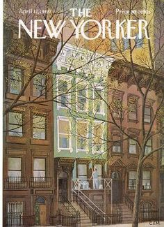 The New Yorker Cover - April 12, 1969 / Charles E. Martin