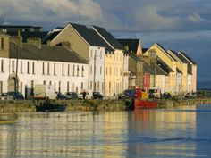 Photographic Print: Long Walk View of Claddagh Quay, Galway Town, Co Galway, Ireland by J P De Manne : Great Places, Places Ive Been, Beautiful Places, Galway Ireland, Ireland Travel, Places To Travel, Places To Visit, England And Scotland, Vacation Spots