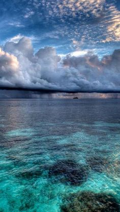 South Male Atoll, Island Nation, Maldives - I love all the shades of blue in this photo.