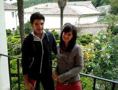 Anna e Michele, giunti qui dal Lago di Garda
