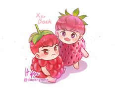 Raspberry and Strawberry~