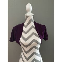 Ambiance Cover up top Purple cover up.  White tag shows in back.  See pic Ambiance Apparel Tops Blouses