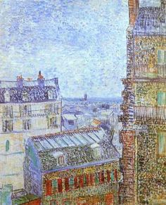 Rue Lepic par Vincent Van Gogh en 1887 Lepic_rue_par_Van_Gogh_ parisrevolutionnaire