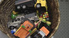 TREASURE CHEST Of Toy Trucks!  Discovery! #garbagetrucksrule