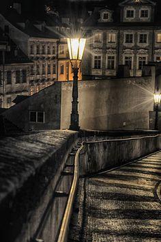 Way from Prague castle, Czechia Prague Castle, Cathedral, Places To Go, World, Garden, Garten, Lawn And Garden, Cathedrals, Gardens