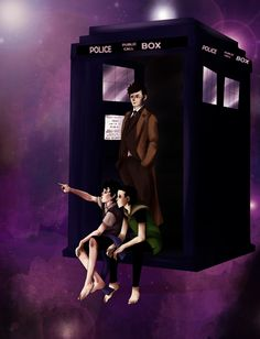 "Sherlock and Loki as companions of the Doctor. by ~NoodleSayYeah. ""The Doctor meets two clever kids. He is aware of how far their skills and witty minds can go, and he also knows what they will become. But for now, the children are the perfect companions.""  The TARDIS loves her boys, Loki is not amused by space, Sherlock keeps forgetting what Ten tells him about the planets, and the Doctor is going crazy, between deductions and a sassy little God of Mischief."