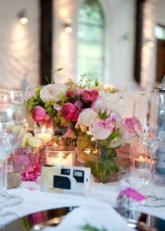 Tischdekoration Blumenschmuck - Tischdekoration -