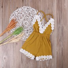 Lauren romper boho chic, bohemian pictures lace romper lace back backless baby girl romper boho chic outfit vintage romper country chic first birthday outfit second birthday Cute Baby Girl Outfits, Baby Girl Romper, Cute Baby Clothes, Baby Girl Newborn, Toddler Outfits, Baby Dress, Kids Outfits, Baby Girls, Baby Baby