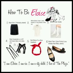 How to be eloise Halloween costume