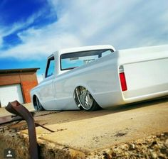 Bagged Truck 67 72 Chevy Classic Trucks C10 Pickups