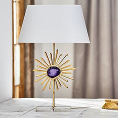 Agate Table Lamp #pbteen