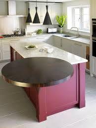 Image result for kitchen breakfast bar round