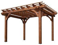 Amazon.com : Backyard Discovery Cedar Pergola 12' by 10' : Garden & Outdoor