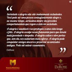 Método DeRose #inspiração #seriedade
