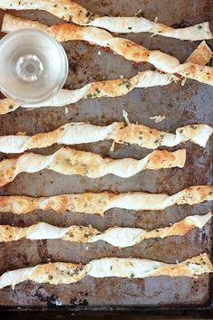 Parmesan Cheese Straws, Two Ways!