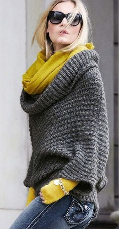 chic grey fall style