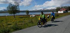 Fietsen in Noord-Noorwegen