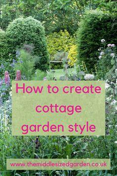 Cottage Garden Borders, Country Cottage Garden, Cottage Garden Design, Cottage Garden Plants, Vegetable Garden Design, Country Garden Ideas, Small Cottage Garden Ideas, English Cottage, English Country Gardens