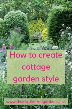 Cottage Garden Borders, Country Cottage Garden, Cottage Garden Plants, Country Garden Ideas, Backyard Garden Ideas, Small Cottage Garden Ideas, Backyard Garden Landscape, Backyard Landscaping, English Cottage