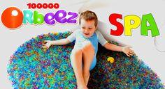 Ванна ORBEEZ, шарики ОРБИЗ, растущие в воде, сюрпризы и игрушки в орбизах