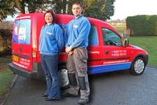 Company Advertising for Pivotal Cleaning Services in Llanymynech on the Welsh / Shropshire Borders.