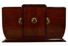 French Art Deco Mahogany Sideboard  6,465