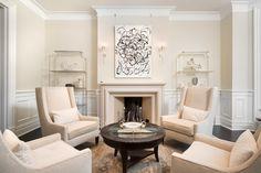 Astor Street Historic Renovation - traditional - Living Room - Chicago - Carr Warner, Architects