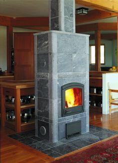TU1000/6T RFB - Tulikivi Soapstone Fireplace