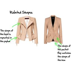 """""""related shapes"""", Imogen Lamport, Wardrobe Therapy, Inside out Style blog, Bespoke Image, Image Consultant, Colour Analysis"""