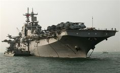 USS Essex (LHD 2), Nov 2010; Wasp-class amphibious assault ship